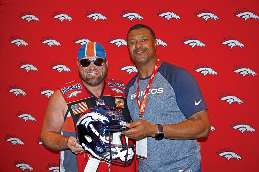 Memories from the Broncos Champions Cruise