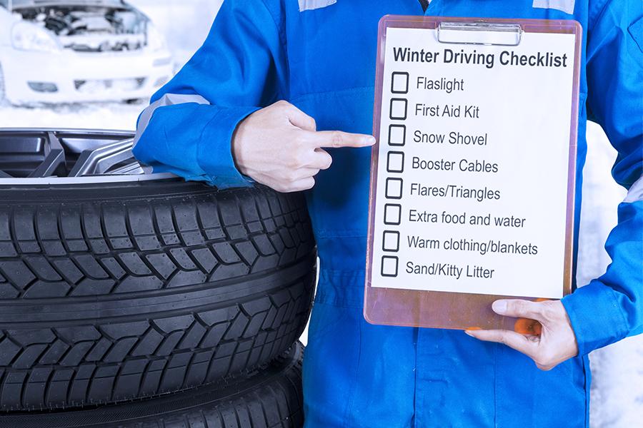Winter Vehicle Survival Advice
