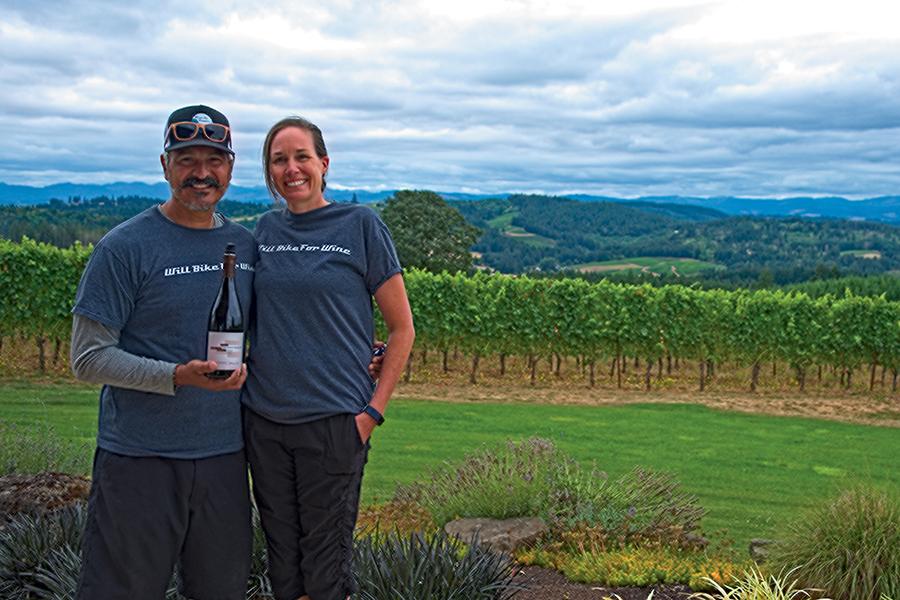 Valley, vineyards, and vistas