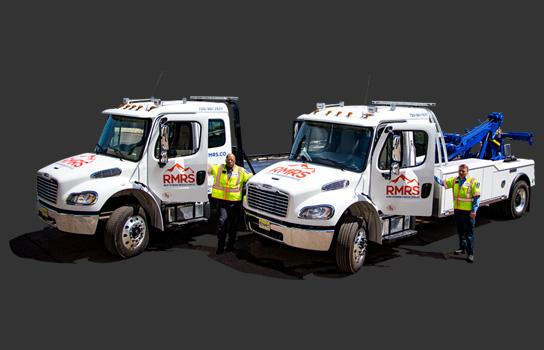 Front Range Commercial Towing Service.