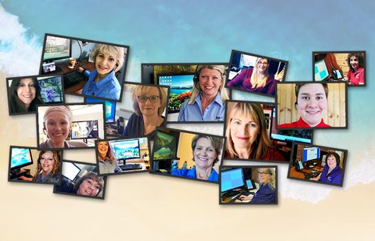 Images of AAA travel agents, who book vacations or trips as well as find discounts and offers on domestic and foreign travel.