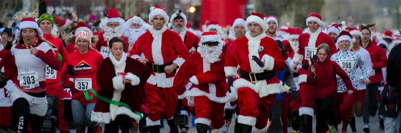 Lighting of Breckenridge & Race of the Santas