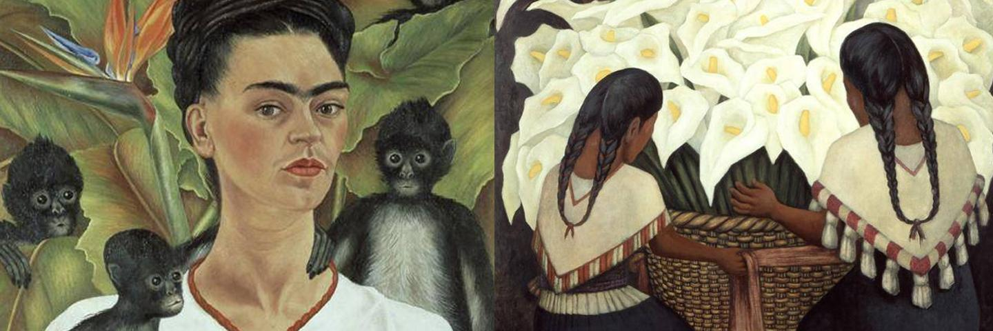 Frida Kahlo, Diego Rivera, and Mexican Modernism Exhibit