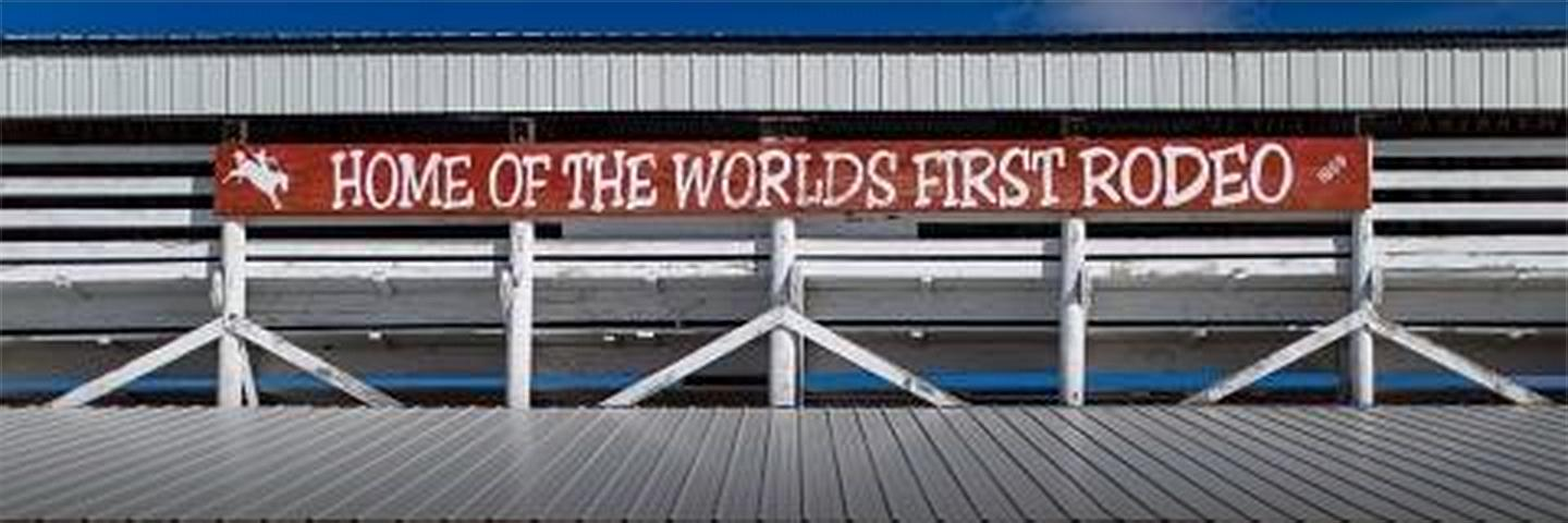 Home of The World's First Rodeo