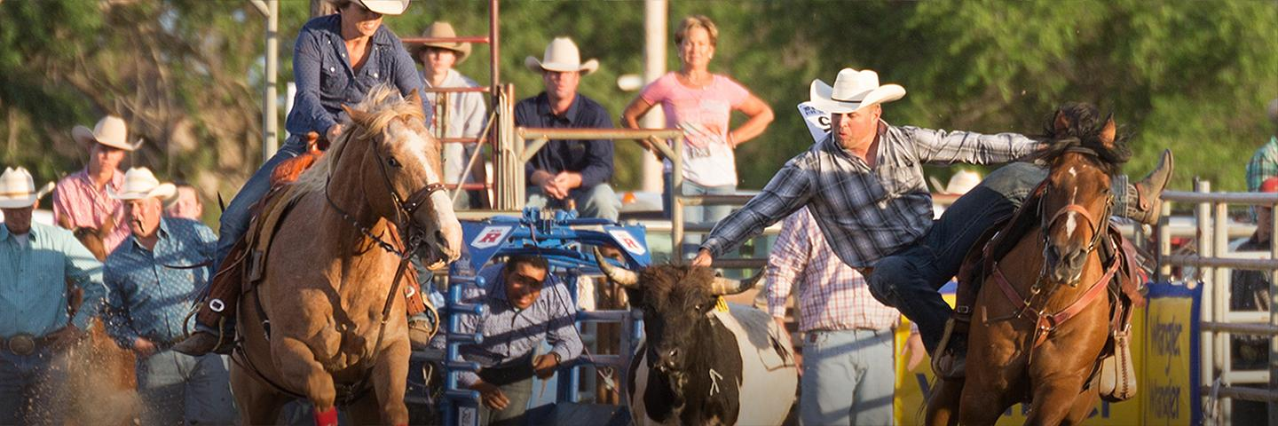 Cowboy Up in Kiowa Rodeo