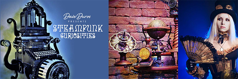 Steampunk Curiosities Exhibit