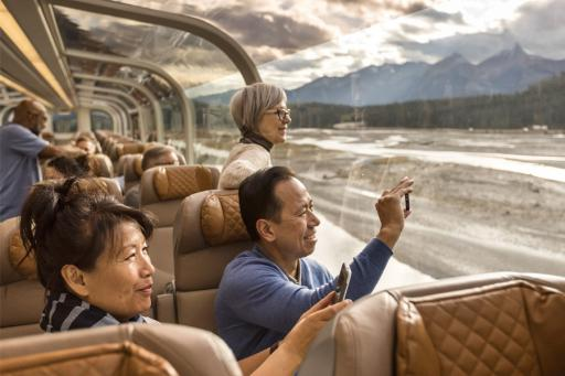 Vancouver to Jasper Rail Journey