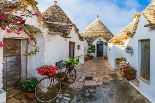 Cycling Italy's Southern Coast