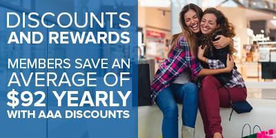 AAA Discounts and Rewards