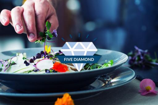 Five & Four Diamond Restaurants
