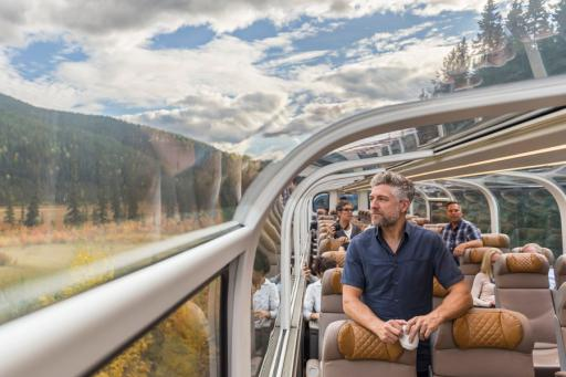 Canadian Rockies Rail Journey <br />with Calgary Stampede