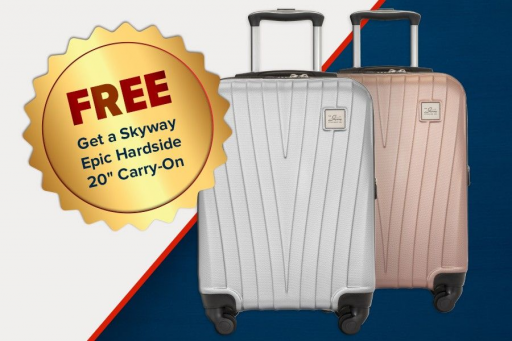 Get FREE LUGGAGE