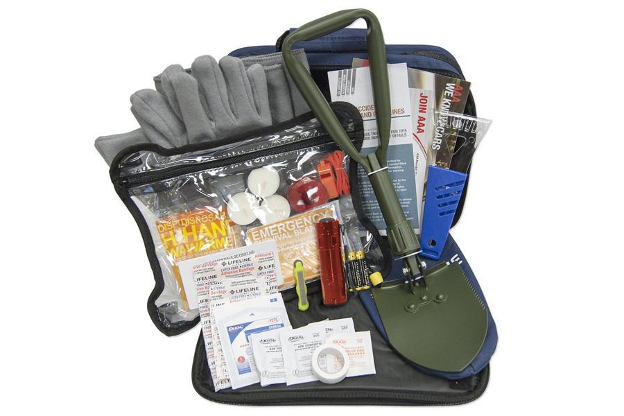 AAA Winter Safety Kit 65 Pieces